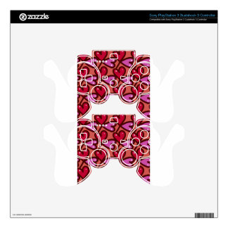 Seamless Hearts #2 PS3 Controller Decals