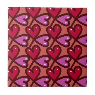 Seamless Hearts #2 Tile