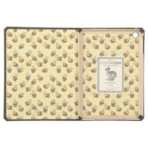 Seamless Honey Bee Pattern iPad Air Covers