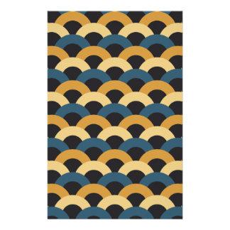 Seamless Japanese Pattern Stationery