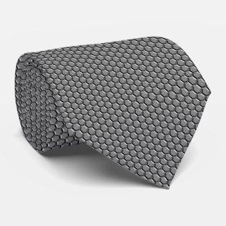Seamless Metallic Gem Hexagonal Pattern Tie