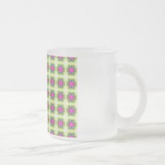 Seamless 10 Oz Frosted Glass Coffee Mug