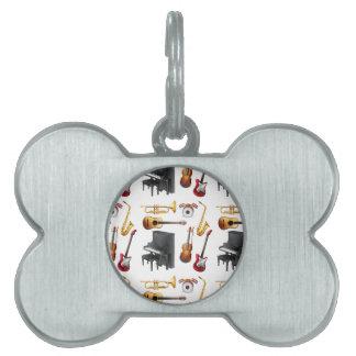 Seamless musical pet tag
