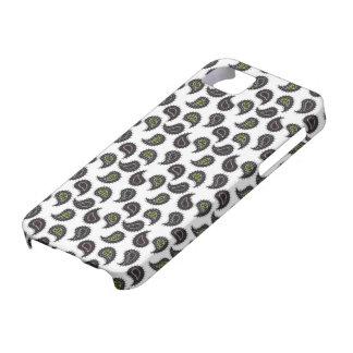 Seamless paisley - dark iPhone SE/5/5s case