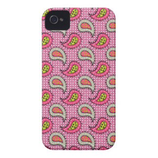 Seamless paisley - pink Case-Mate iPhone 4 case
