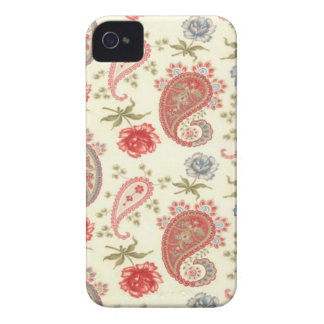 Seamless paisley with flower iPhone 4 case