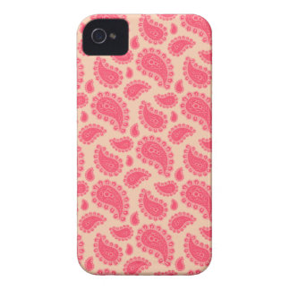 Seamless paisley with flower iPhone 4 Case-Mate case
