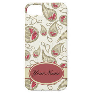 Seamless paisley with flower iPhone SE/5/5s case