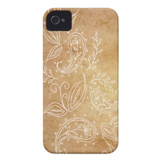Seamless paisley with flower v5 iphone 4 covers