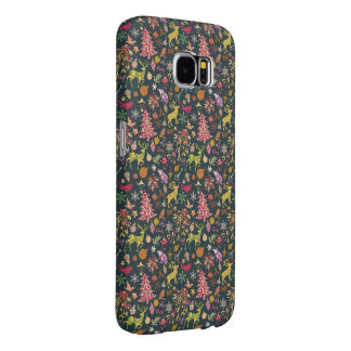 Seamless Patchwork Christmas Pattern Samsung 6Case Samsung Galaxy S6 Case