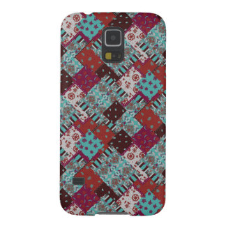 Seamless patchwork paisley pattern galaxy s5 case