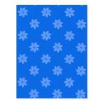 Seamless Pattern 05,blue Post Card