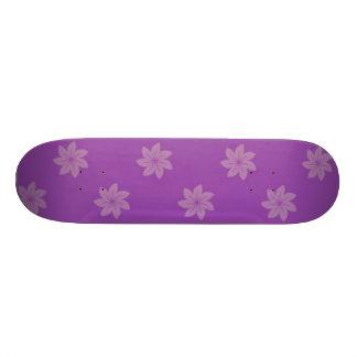Seamless Pattern 05 purple Skateboard Decks