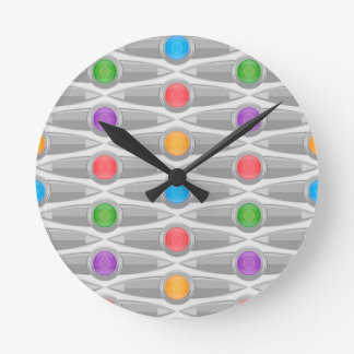seamless-pattern #10 round clock