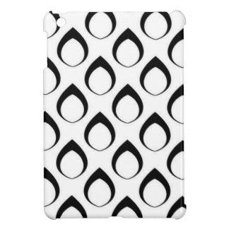 Seamless pattern black,white 04 iPad mini cover