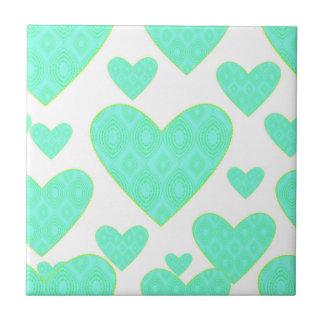 Seamless Pattern Ceramic Tile