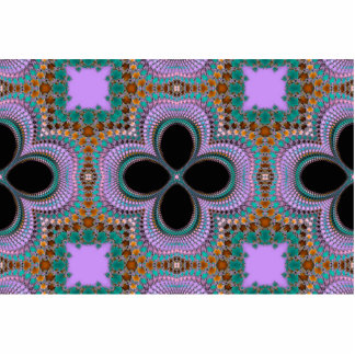 Seamless Pattern Photo Cut Outs