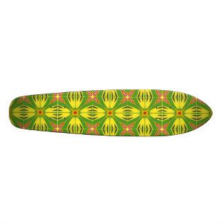 Seamless Pattern Skate Board