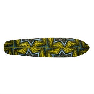 Seamless Pattern Skateboard Deck