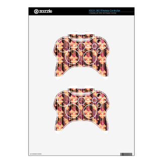 seamless-pattern xbox 360 controller decal