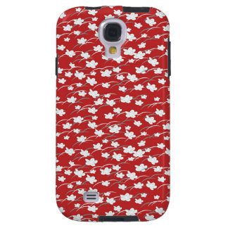 Seamless Red BlossomSamsung Galaxy S4 Case