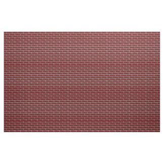 Seamless Red Brick 4 squared large.jpg Fabric