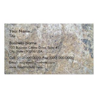 Seamless Rock Texture Business Card Templates