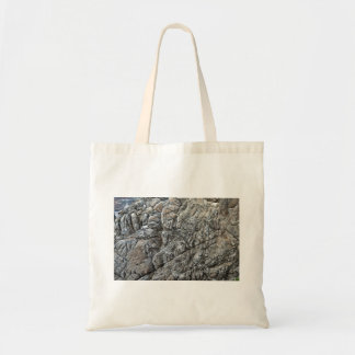Seamless Rock Texture Detail Tote Bags