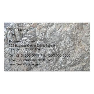 Seamless Rock Texture Detail Business Card