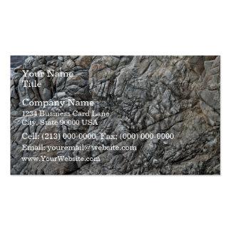 Seamless Rock Texture Detail Business Card Template