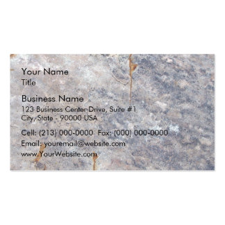 Seamless Rock Texture with Lichens Business Cards