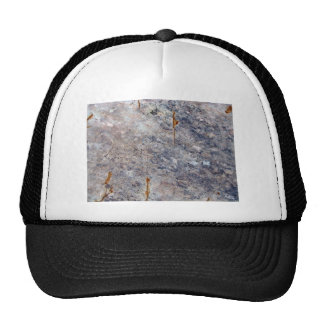 Seamless Rock Texture with Lichens Trucker Hats