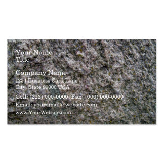 Seamless Rock Texture with Lichens in Detail Business Cards