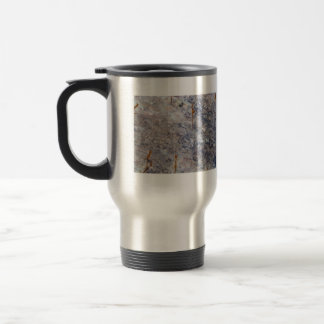 Seamless Rock Texture with Lichens Coffee Mugs