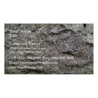 Seamless Rock Texture with moss Business Card Templates