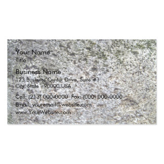 Seamless Rock Texture with moss Business Card