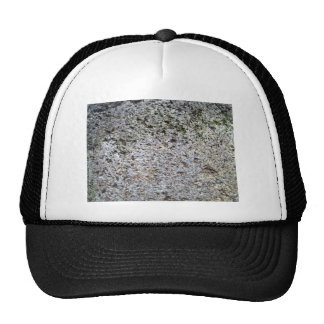 Seamless Rock Texture with moss Mesh Hat