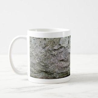 Seamless Rock Texture with moss Mugs