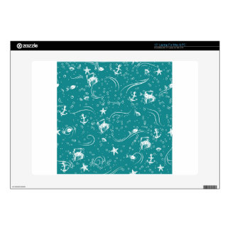 Seamless Seascape Decal For Laptop