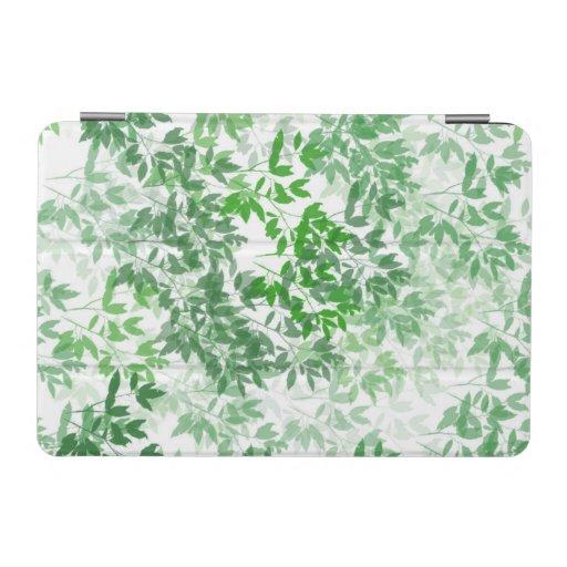Seamless Tile leaf iPad Mini Cover