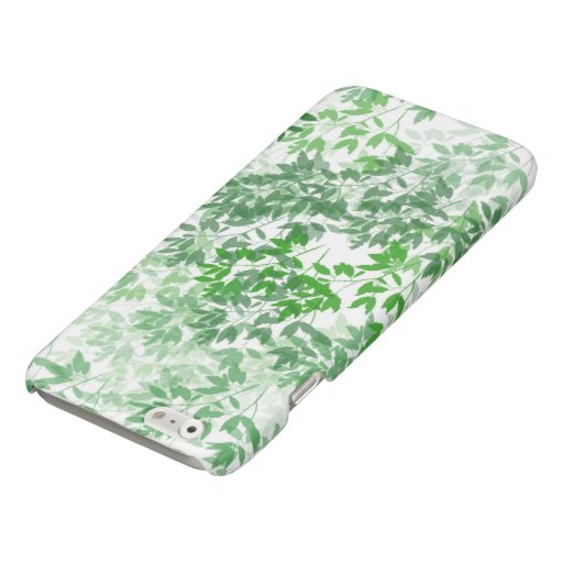 Seamless Tile leaf Glossy iPhone 6 Case