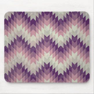 Seamless vector chevron pattern mouse pad