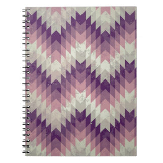 Seamless vector chevron pattern note book