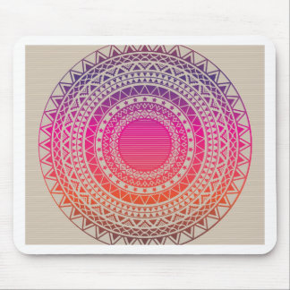 Seamless vector tribal texture mouse pad