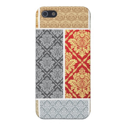 Seamless Vintage Wallpapers1 Case For iPhone 5