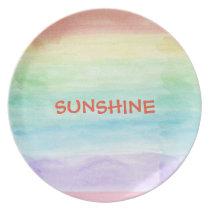 Seamless Watercolor Pattern by storeman Plate