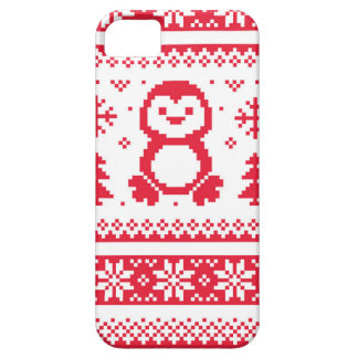 Seamless winter pattern Christmas smartphone case iPhone 5 Cover