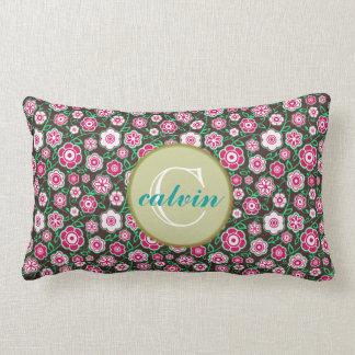 Seamless zigzag Chevron pattern throw pillow