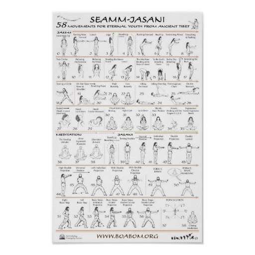 Seamm-Jasani: 58 Movements for Eternal Youth Poster