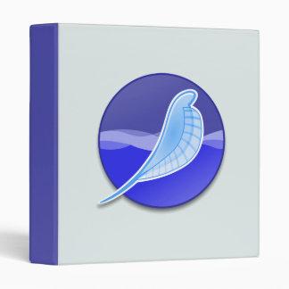 SeaMonkey Logo 3 Ring Binder